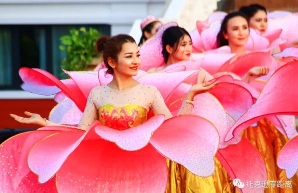 第27届中国丝绸之路吐鲁番葡萄节_托克逊分会场活动举行