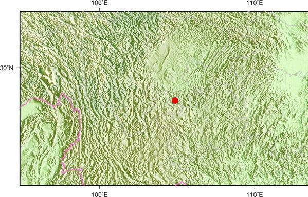 8月10日17时9分四川宜宾市珙县发生2.9级地震
