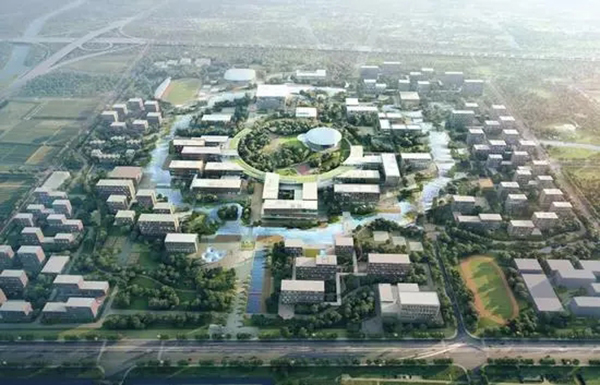 西湖大学规划方案效果图 本文图均为 浙江在线微信公众号 图