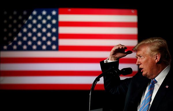 特朗普瞄准2020年总统大选连任:没人能跟我PK
