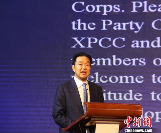 第六届中国-亚欧博览会开放兵团主题日活动举办