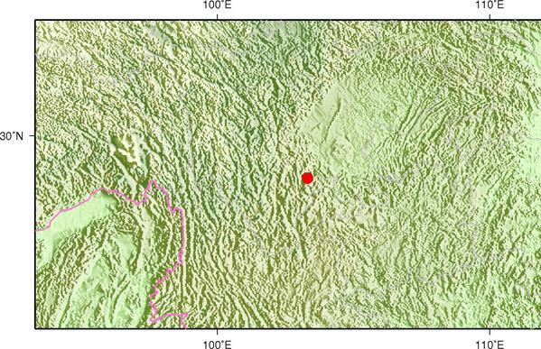 8月11日14时11分四川乐山市马边县发生3.8级地震