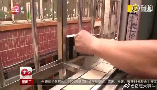 民间高手发明了居民楼火灾逃生防盗网,这个设计太实用了