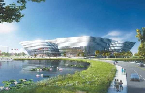 关于征求义乌大剧院建筑设计方案意见的公告图片