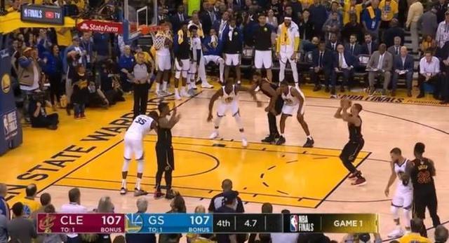 NBA总决赛最后争议判罚 裁判真的偷走骑士的胜利图片 50678 640x347