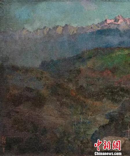 徐悲鸿作品珍藏大展25日在保利艺术博物馆拉开帷幕
