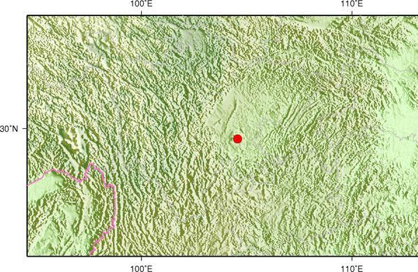 5月18日15时12分四川内江市威远县发生3.0级地震