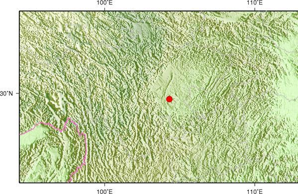 7月9日3时31分四川内江市威远县发生2.9级地震