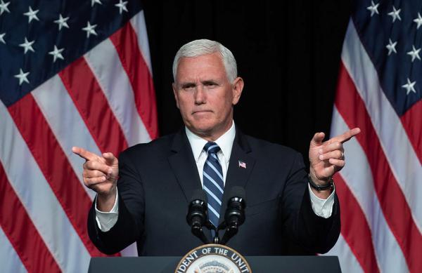 美副总统国防部演讲:争取2020年成立太空军bitadh