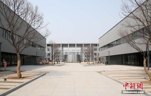 资料图:雄安市民服务中心。韩冰 摄