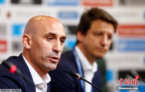 資料圖:西班牙足協主席宣佈解僱洛佩特吉