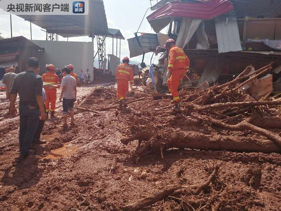 云南墨江泥石流现场又发现1具遗体 遇难人数升至5人