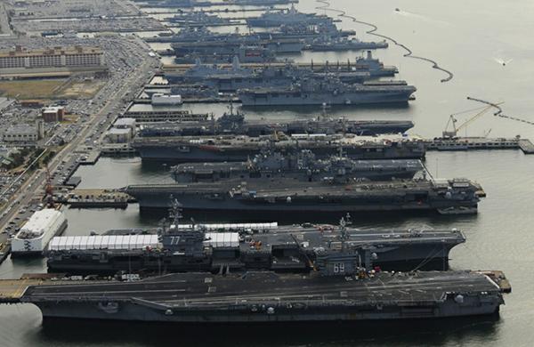 美国在2004年将其航母战斗群更名为航母打击群,以示其作战任务和作战环境的改变。