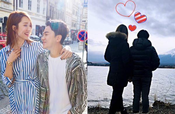 """李亚男""""偷拍""""老公抱女儿散步超有爱,网友却一眼看出两人身高差"""