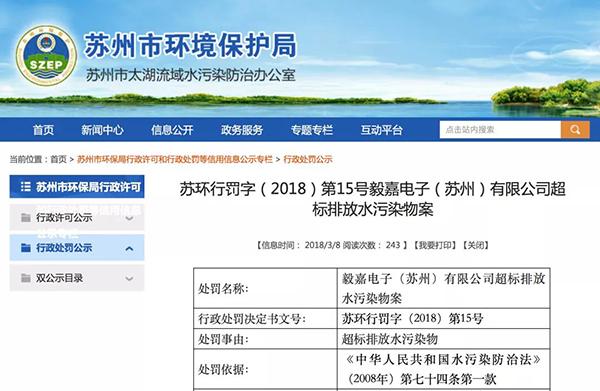 小米:环保组织促其披露供应链污染问题 已致信港交所