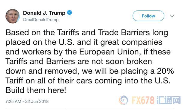 特朗普贸易战害人害己 美国经济或将陷入全面衰退