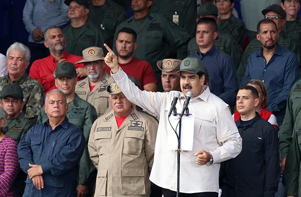 13日,馬杜羅發出命令,把委內瑞拉民兵組織的規模擴大一百萬。東方IC 圖