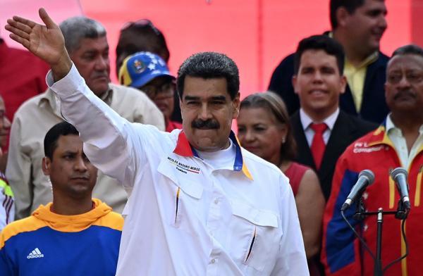 委內瑞拉總統尼古拉斯∙馬杜羅。 視覺中國 圖