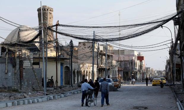 摩苏尔的老城区 图片来源:路透社