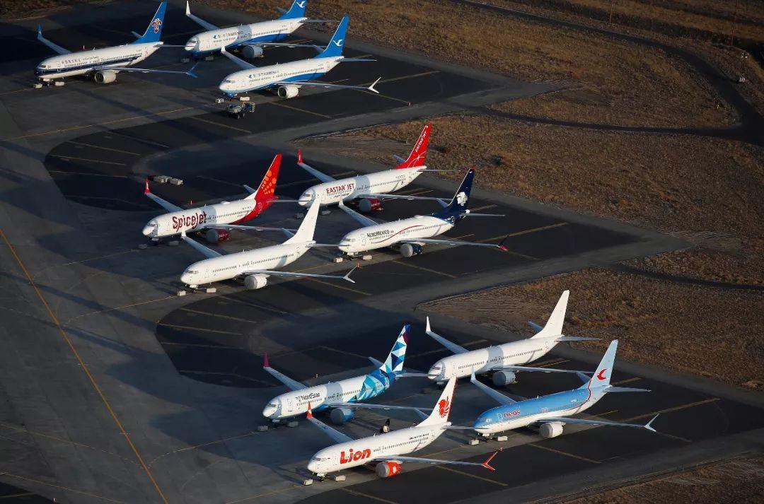 △波音737 MAX系列客机