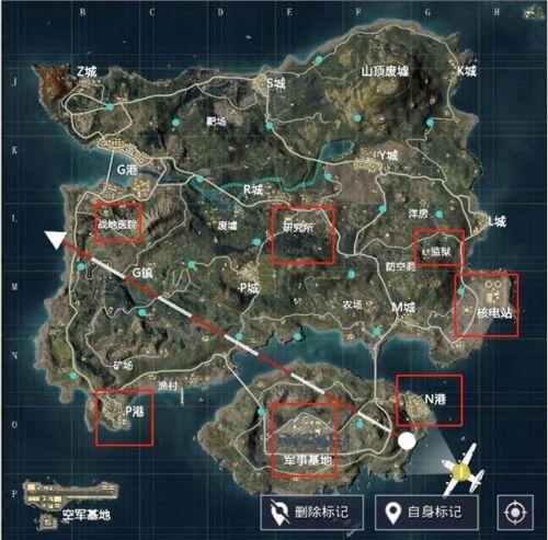 和平精英武装直升机刷新地点分享
