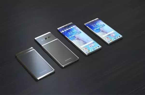 手机屏幕新方向?三星滑盖手机专利曝光