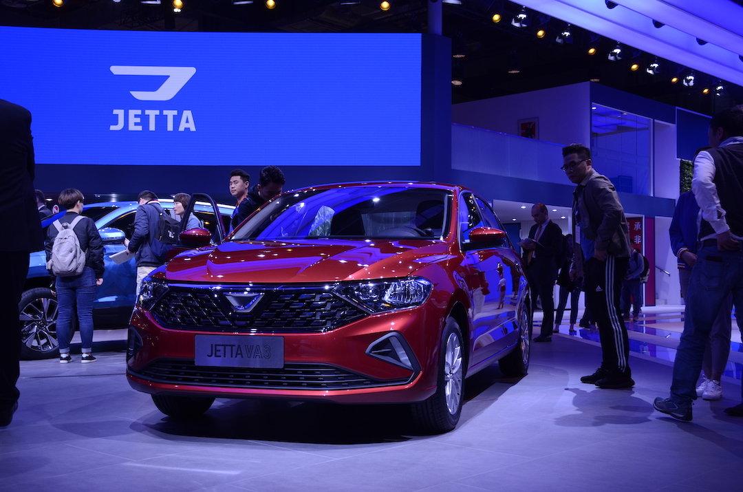 捷达独立后车型首次展出,新车最快今年三季度上市