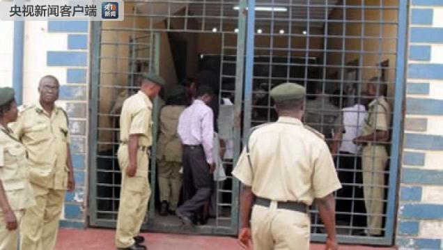 尼日利亚尼日尔州发生越狱 210名囚犯逃脱(图)