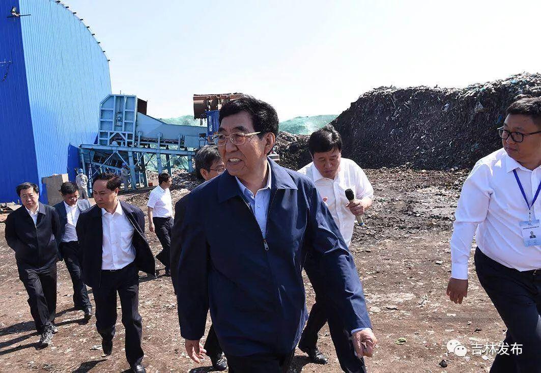 巴音朝鲁在四平督战东辽河流域污染治理工作