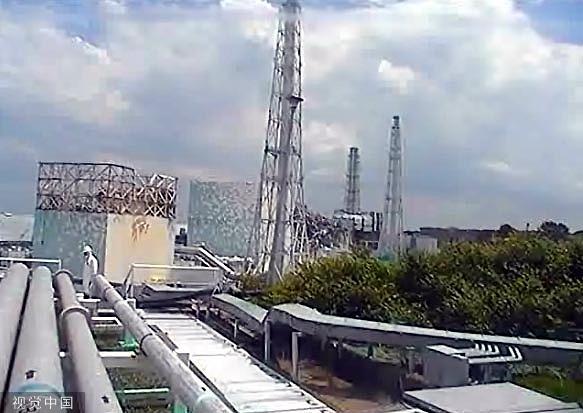 日本祸岛第一核电站污火污染安装。图/视觉中国
