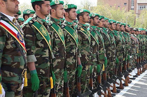 伊斯兰革命卫队。视觉中国 资料图