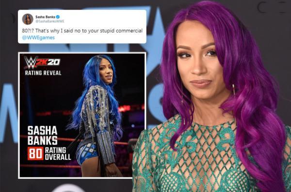 WWE罗曼,塞斯2K游戏人物实力评分曝光,莎夏对此很不满
