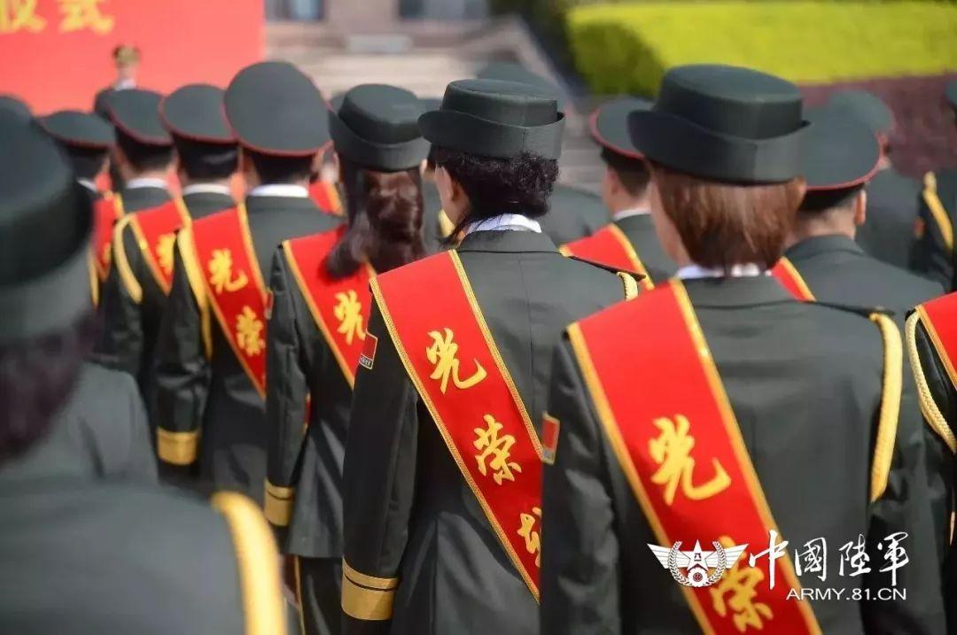 ▲组织转业干部退役仪式现场。