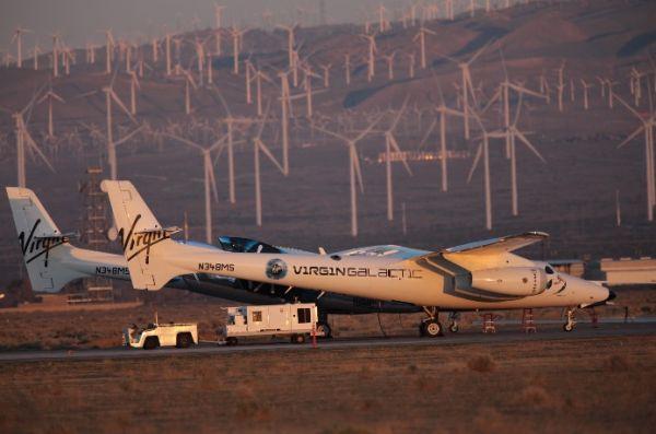 维珍银河新飞船首试动力飞行 太空旅游迈出一大步