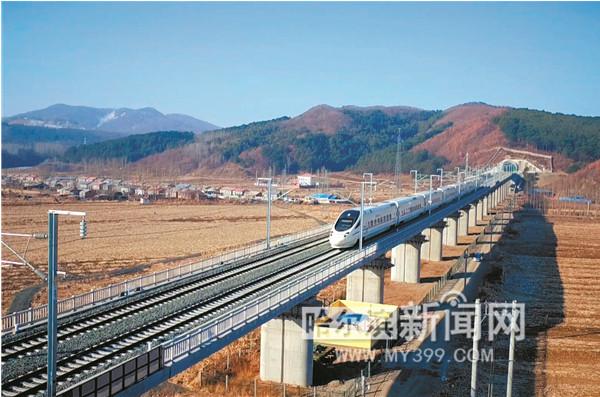哈牡高铁启动运行试验 预计今年末开通