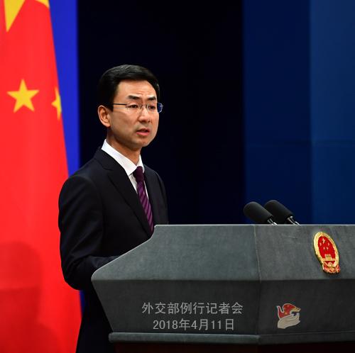 中方为何对美方叙利亚提案投弃权票? 外交部回应中国好声音杰克隽逸