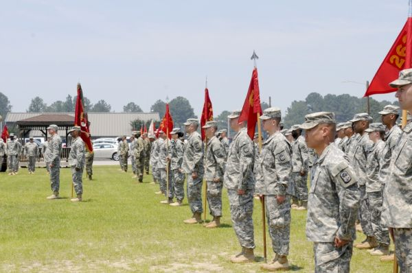 资料图片:美军南卡罗来纳州国民警卫队第678防空炮旅。(图片来源于网络)