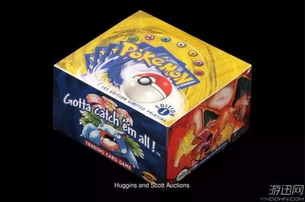 一盒未拆封《精灵宝可梦》卡牌卖了38万 开包就像买彩票