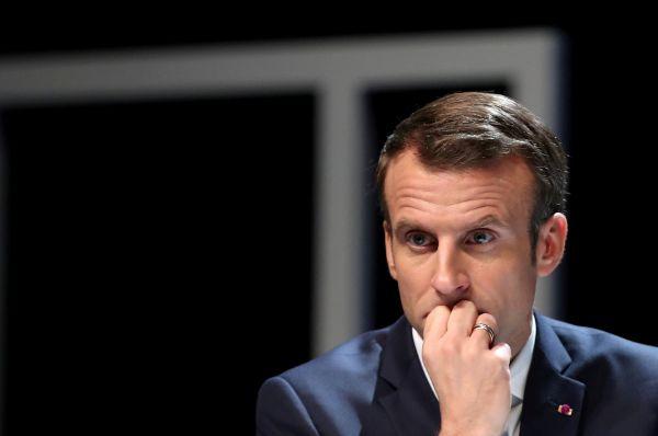 法国总统马克龙(路透社)