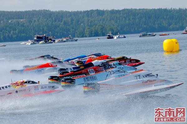 逐浪五缘湾 F1摩托艇世界锦标赛中国厦门大奖赛开赛