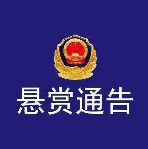 【扩散】警方悬赏通缉这20人,淄博人见到请立即报警!