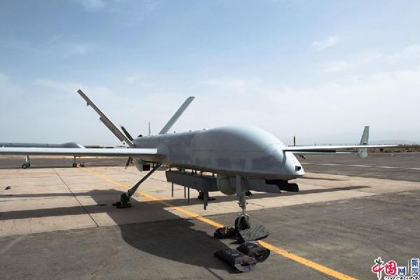 中国4架彩虹无人机在西北进行交付前地面测试(图)道血玄黄