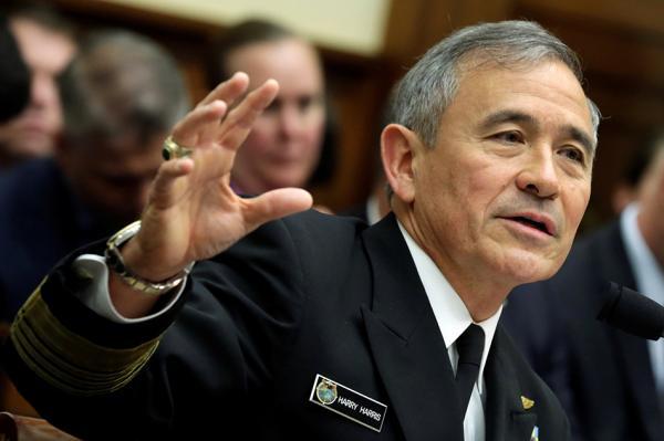 特朗普提名海军上将哈里斯出任美驻韩大使 美白宫证实