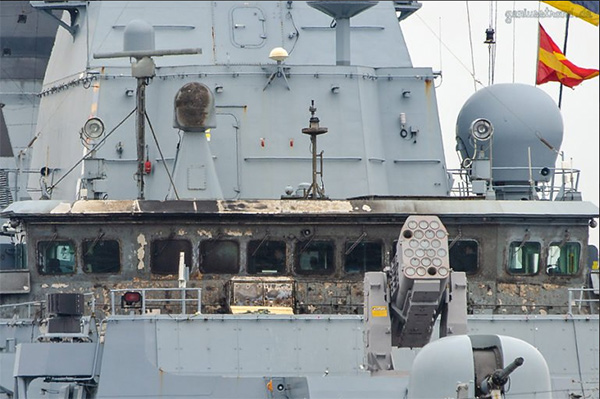 一艘德国护卫舰实弹演习时发生故障造成2人轻