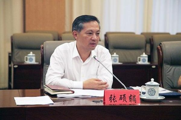 循例前任任学锋,新任广州市委书记张硕辅再次
