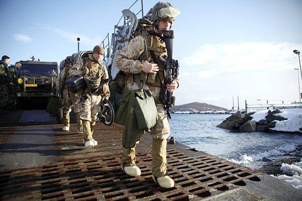 外媒称美海军陆战队将增加在挪威驻军 人数翻一倍