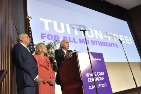 纽约大学为医学生免学费:让背负贷款的学生自