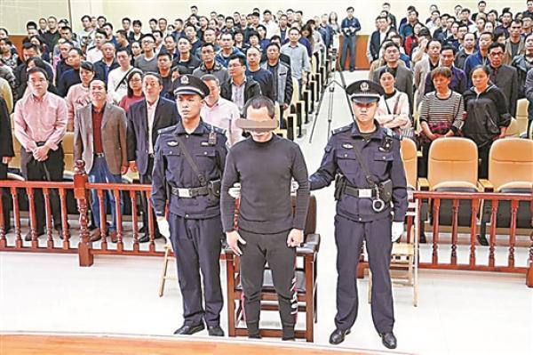 庭审现场。 金城江区检察院供图