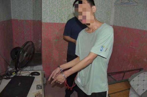 嫌疑人罗某某已被警方依法刑事拘留。@东莞网警巡查执法 图