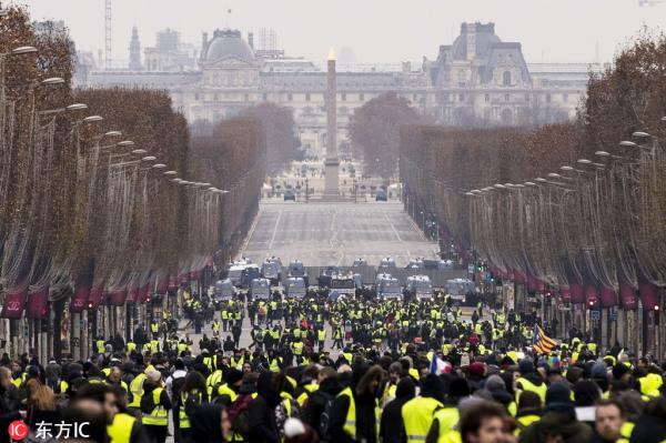 12月15日,巴黎(图片来源:东方IC)